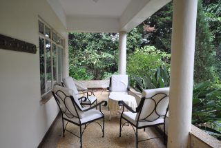 Veranda on the Animal Farm for Sale in Usa River, Arusha by Tanganyika Estate Agents