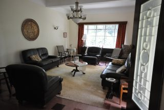 Living Room on the Animal Farm for Sale in Usa River, Arusha by Tanganyika Estate Agents