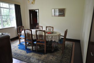 Dining Room on the Animal Farm for Sale in Usa River, Arusha by Tanganyika Estate Agents