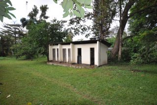 Outdoor Toilets on the Animal Farm for Sale in Usa River, Arusha by Tanganyika Estate Agents