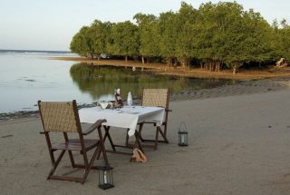 Dining Area on the Beach of the Eco Friendly Lodge for Sale, Dar es Salaam by Tanganyika Estate Agents