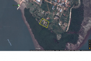 Google Map of the Industrial Plot for Sale in Kilwa Masoko by Tanganyika Estate Agents