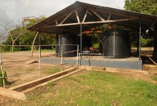 A Building on the Industrial Plot for Sale in Kilwa Masoko by Tanganyika Estate Agents