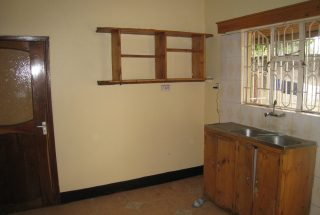 The Kitchen of the Four Bedroom House for Rent in Njiro, behind Nane Nane by Tanganyika Estate Agents