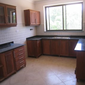Kitchen of the 4 Bedroom Furnished Apartment in Oyster Bay, Dar es Salaam by Tanganyika Estate Agents