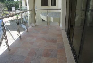 Balcony of the 4 Bedroom Furnished Apartment in Oyster Bay, Dar es Salaam by Tanganyika Estate Agents