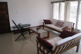 Furnished Living Room of the Three Bedroom Home Rental on Kimandolu Hill, Arusha by Tanganyika Estate Agents