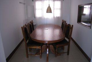 The Dining Room of the Three Bedroom Home Rental on Kimandolu Hill, Arusha by Tanganyika Estate Agents