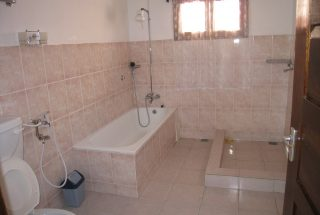 One of the Bathroom of the Three Bedroom Home Rental on Kimandolu Hill, Arusha by Tanganyika Estate Agents