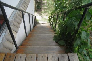 Outdoor Staircase of the Four Bedroom House Rental in Olasiti, Arusha by Tanganyika Estate Agents
