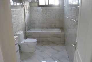 Bathroom of the 4 Bedroom Furnished Apartment in Oyster Bay, Dar es Salaam by Tanganyika Estate Agents