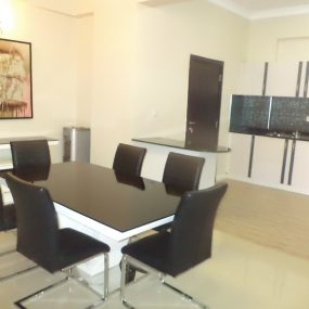 Dining Room in the 3 Bedroom Furnished Apartment in Oyster Bay by Tanganyika Estate Agents