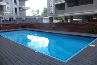 Swimming Pool in the 3 Bedroom Furnished Apartment in Oyster Bay by Tanganyika Estate Agents