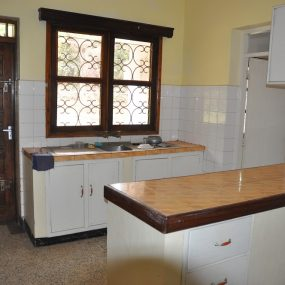 The Kitchen of the Three Bedroom Rental Home in Themi Hill, Arusha by Tanganyika Estate Agents