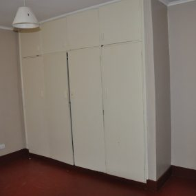 Inbuilt Wardrobes of a Bedroom of the Two Bedroom Furnished Home in Olasiti, Arusha by Tanganyika Estate Agents