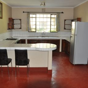 The Kitchen of the Two Bedroom Furnished Home in Olasiti, Arusha by Tanganyika Estate Agents