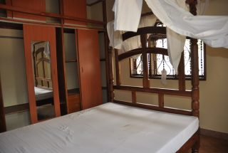 Bedroom of the Three Bedroom Furnished House in Usa River Town by Tanganyika Estate Agents
