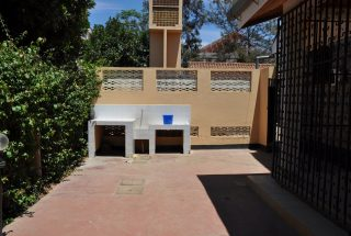 Back of the Four Bedroom House for Rent in Njiro AGM in Arusha by Tanganyika Estate Agents