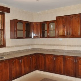 The Kitchen of the Four Bedroom House for Rent in Njiro AGM in Arusha by Tanganyika Estate Agents