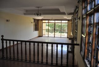 The Living Room of Four Bedroom House for Rent in Njiro AGM in Arusha by Tanganyika Estate Agents