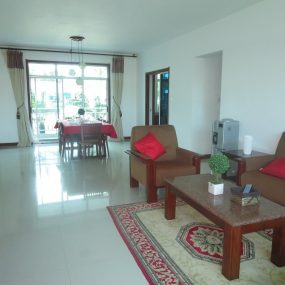 Dining & Living Rooms of the 4 Bedroom Furnished Apartment in Oyster Bay, Dar es Salaam by Tanganyika Estate Agents
