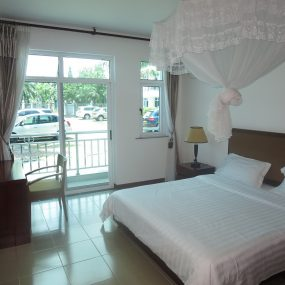 Bedroom of the 4 Bedroom Furnished Apartment in Oyster Bay, Dar es Salaam by Tanganyika Estate Agents