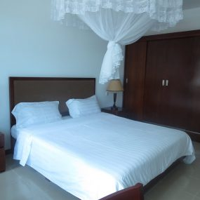 Bed of the 4 Bedroom Furnished Apartment in Oyster Bay, Dar es Salaam by Tanganyika Estate Agents