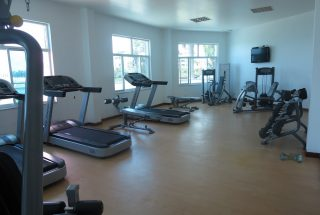 Gym of the Two Bedroom Furnished Apartments in Upanga, Dar es Salaam by Tanganyika Estate Agents