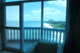 Balcony of the Two Bedroom Furnished Apartments in Upanga, Dar es Salaam by Tanganyika Estate Agents