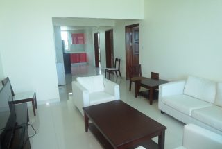 Living Room of the Two Bedroom Furnished Apartments in Upanga, Dar es Salaam by Tanganyika Estate Agents