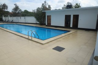 Swimming Pool of the 4 Bedroom Furnished Apartment in Oyster Bay, Dar es Salaam by Tanganyika Estate Agents