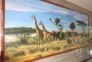 Artwork in the Two Bedroom Furnished Apartments in Upanga, Dar es Salaam by Tanganyika Estate Agents
