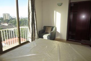 Balcony of the One Bedroom Furnished Apartment in Dar es Salaam by Tanganyika Estate Agents