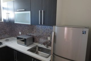 Kitchen of the One Bedroom Furnished Apartment in Dar es Salaam by Tanganyika Estate Agents