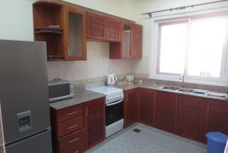 Kitchen of the 3 Bedroom Furnished Apartments in Jangwani Beach, Dar es Salaam by Tanganyika Estate Agents