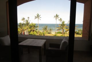 View from Balcony of the One bedroom Fully Serviced Apartment in Oysterbay by Tanganyika Estate Agents