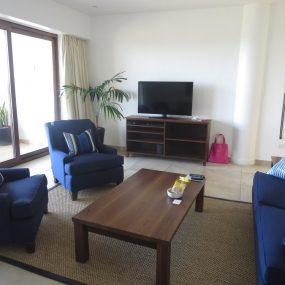 Living Room of the One bedroom Fully Serviced Apartment in Oysterbay by Tanganyika Estate Agents