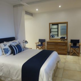 Bedroom of the One bedroom Fully Serviced Apartment in Oysterbay by Tanganyika Estate Agents