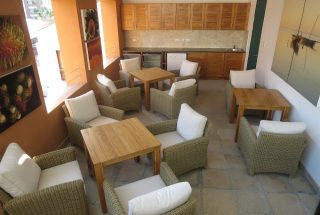 Restaurant of the One bedroom Fully Serviced Apartment in Oyster bay by Tanganyika Estate Agents