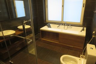Bathroom of the 3 Bedroom Furnished Apartments in Masaki by Tanganyika Estate Agents
