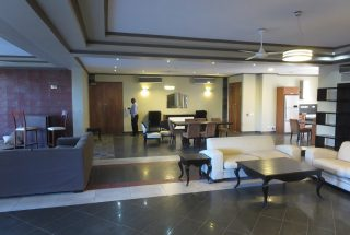 Living & Dining Room of the 3 Bedroom Furnished Apartments in Masaki by Tanganyika Estate Agents