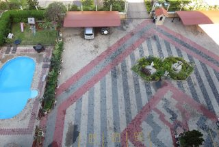 Parking Lot of the 3 Bedroom Furnished Apartments in Masaki by Tanganyika Estate Agents