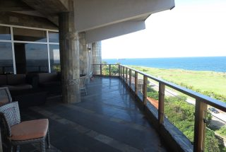 Balcony of the 3 Bedroom Furnished Apartments in Masaki by Tanganyika Estate Agents