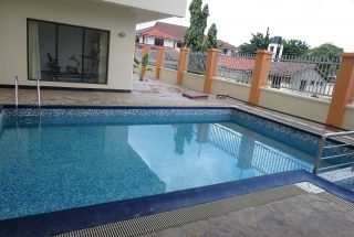 Swimming Pool of the 3 Bedroom Furnished Apartment in Masaki, Dar es Salaam by Tanganyika Estate Agents
