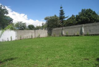 The Lawn of the Three Bedroom House in Olorien, Arusha by Tanganyika Estate Agents