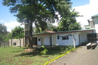 The Back View of the Three Bedroom House in Olorien, Arusha by Tanganyika Estate Agents