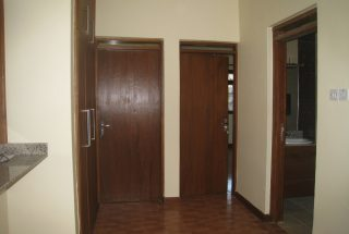 View of a corridor of the Three Bedroom House in Olorien, Arusha by Tanganyika Estate Agents