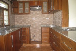Kitchen of the Three Bedroom House in Olorien, Arusha by Tanganyika Estate Agents