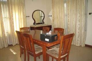 The Dining Room of the 4 Bedroom Furnished Home in West of Arusha by Tanganyika Estate Agents
