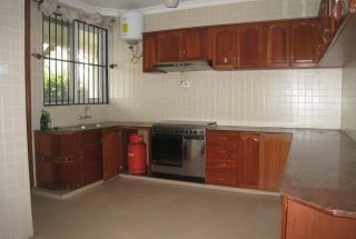 The Kitchen of the 4 Bedroom Furnished Home in West of Arusha by Tanganyika Estate Agents